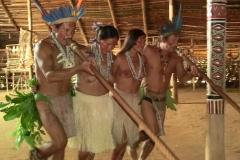 indios dancando